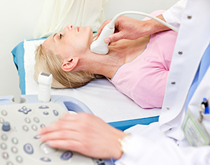What is a carotid ultrasound?