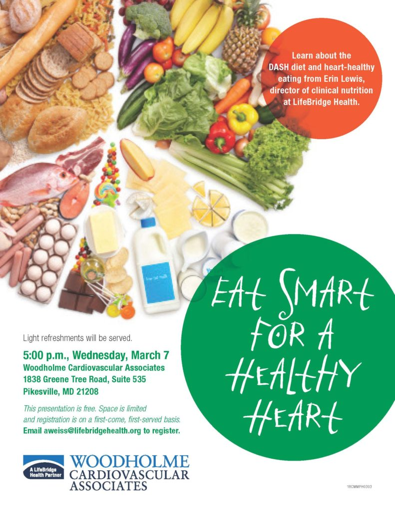 nutrition presentation eat smart for a healthy heart baltimore