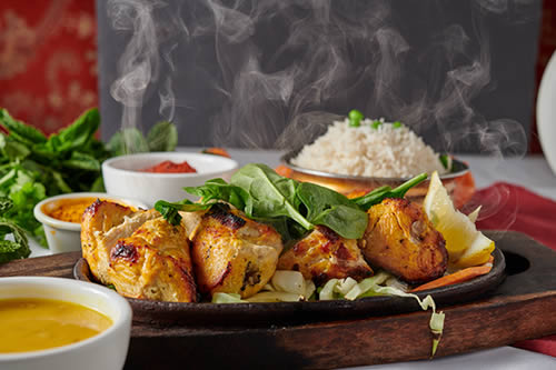 Grilled Chicken Sizzler
