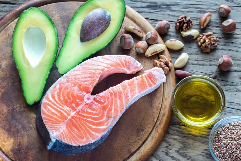 Food with omega 3
